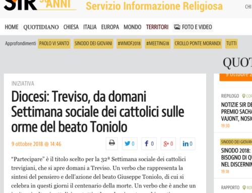 Diocesi: Treviso, da domani Settimana sociale dei cattolici sulle orme del beato Toniolo